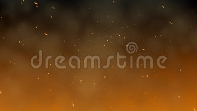 La lueur du feu banque de vidéos