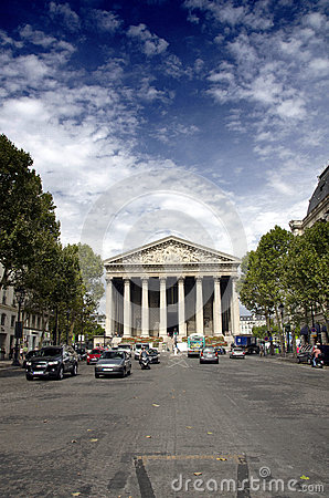 La Madeleine, Paris Editorial Image