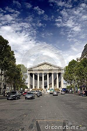 Free La Madeleine, Paris Stock Photo - 26308210
