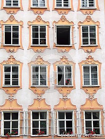 La maison de Mozart à Salzbourg