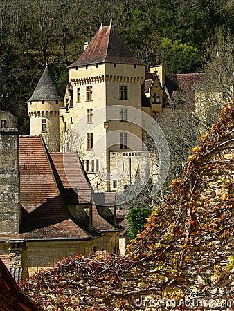 La Malartrie castle, La Roque-Gageac (France )