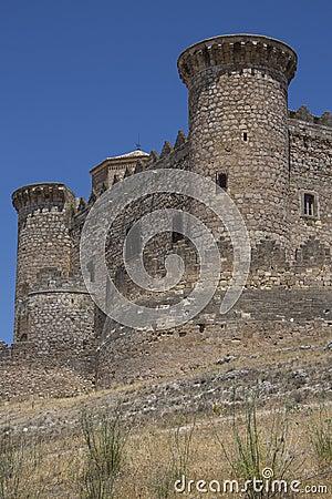 La Mancha - Belmonte Fortress - Spain