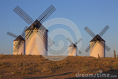 La Mancha - Windmills - Spain