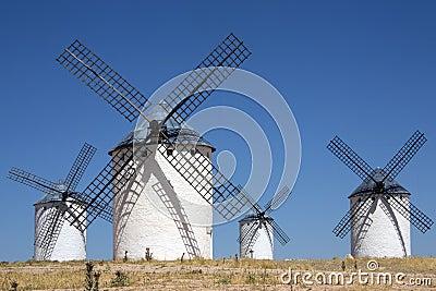 La Mancha Windmills - Spain