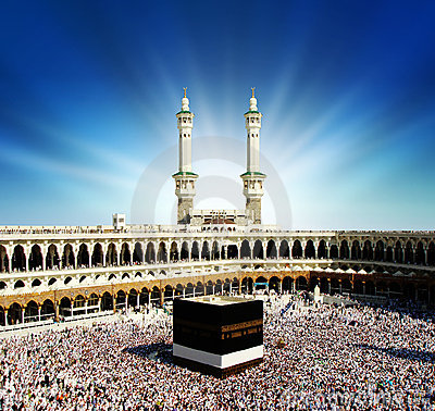 La Mecca Arabia Saudita di Kaaba.