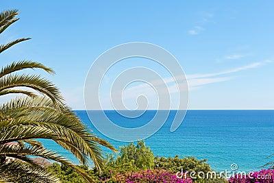 La mer Méditerranée