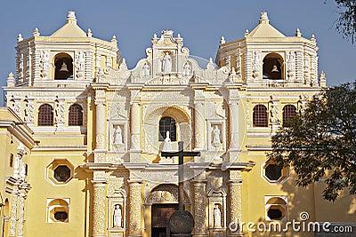 La Merced church facade