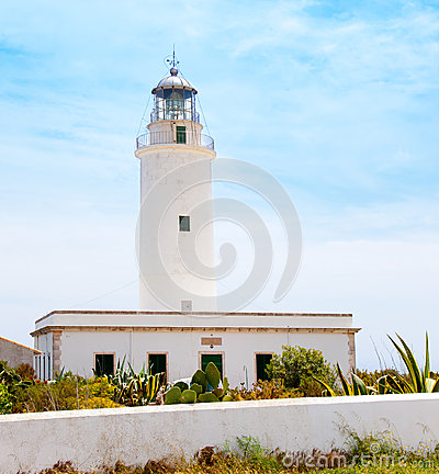 La Mola lighthouse in Formentera in Balearic