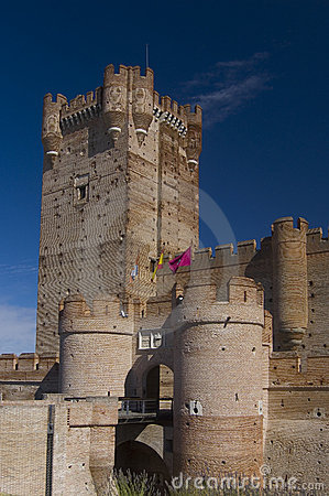 Free La Mota Castle, Valladolid. Sp Royalty Free Stock Image - 5233386