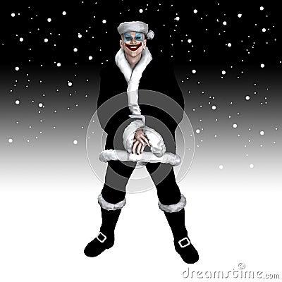 La Navidad asustadiza Santa