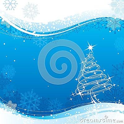 La Navidad azul