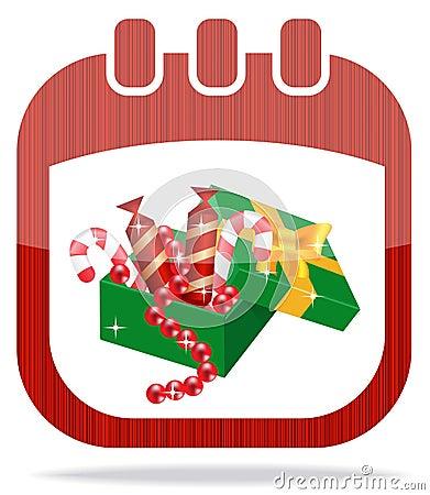 Resultado de imagen de icono calendario navideño