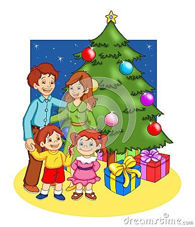 La Navidad en familia