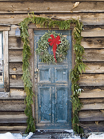 La Navidad en una cabina de registro