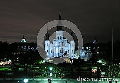 La Nouvelle-Orléans historique Photo stock éditorial