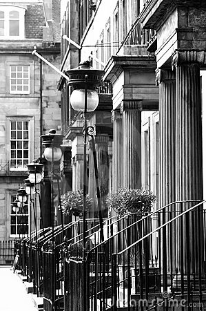 La nuova città, Edinburgh