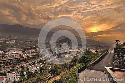 La Orotava valley Editorial Photo