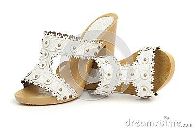 Chaussures de femme de paires