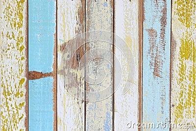 La pared de madera pintada vieja fotograf a de archivo - Imagenes de paredes pintadas ...