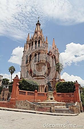 La Parroquia San Miguel Allende