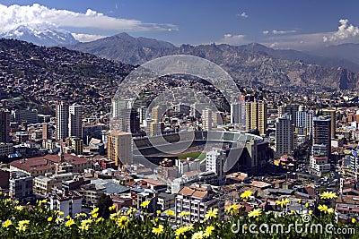 La Paz - Bolivia Editorial Image