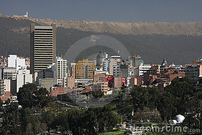 La Paz City Buildings