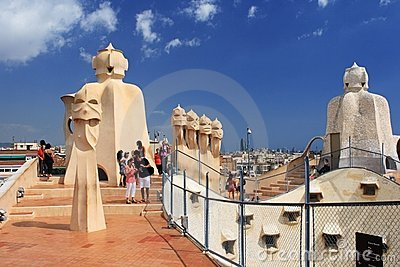La Pedrera Editorial Stock Image