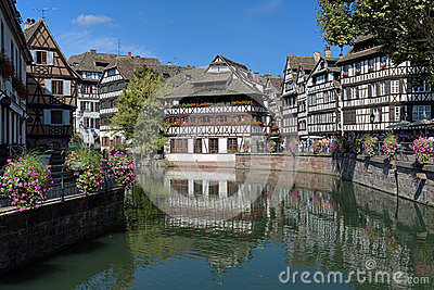 La Petite France district in Strasbourg, France Editorial Stock Photo