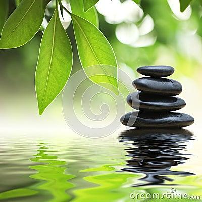 La pile lapide le zen