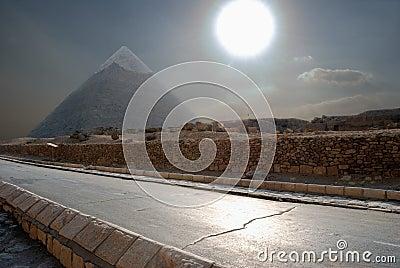La pirámide egipcia