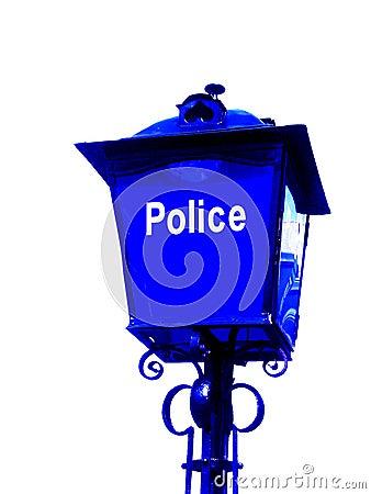La polizia firma