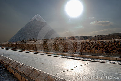 La pyramide égyptienne