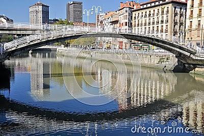 La Ribera Bridge, Bilbao