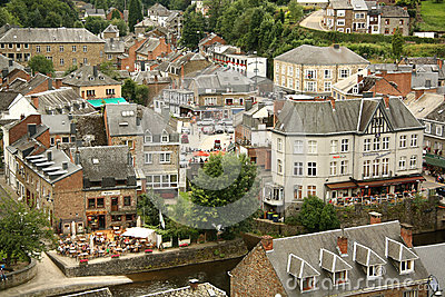 La Roche en Ardenne, Belgium Editorial Stock Photo