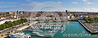 La Rochelle harbour -  Panorama