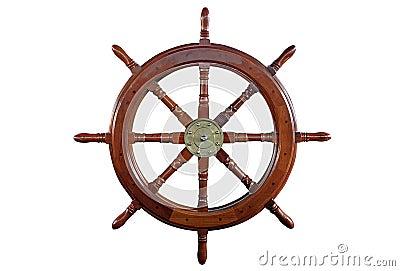 La roue du bateau