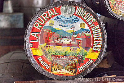 La Rural Symbol Mendoza Argentina Editorial Photography