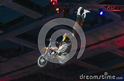Volo del cavallo di ferro Fotografia Editoriale