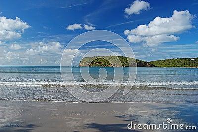 La Sagesse beach on Grenada Island