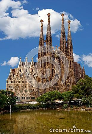 Free La Sagrada Familia Stock Images - 14869564