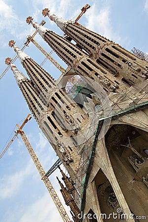 La Sagrada Familia Editorial Photo