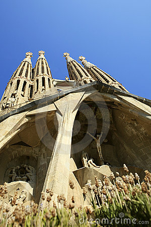 Free La Sagrada Familia Stock Images - 21525244
