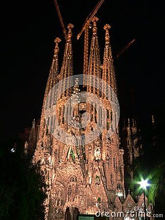 Free La Sagrada Familia Royalty Free Stock Photography - 319487