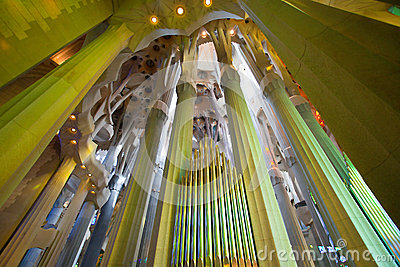 La Sagrada Familia 2013 Editorial Photography