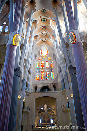 La Sagrada Familia 2013 Editorial Image