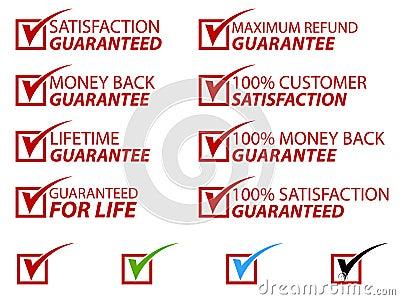La satisfaction estampe l ENV