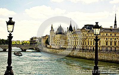 La Seine in Paris