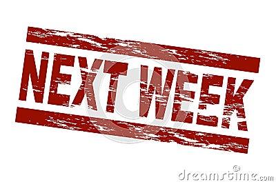 La semana próxima
