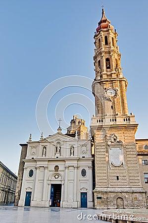 La Seo Cathedral at Zaragoza, Spain