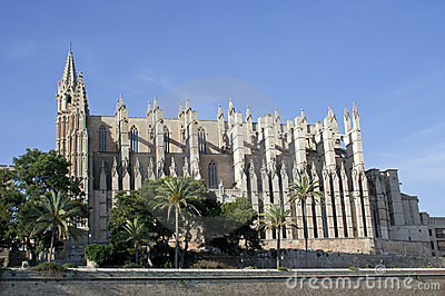 La Seu Cathedral, raw